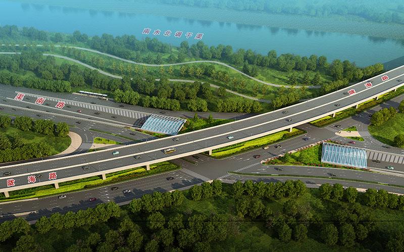郑州市渠南路(西四环-陇海路)工程