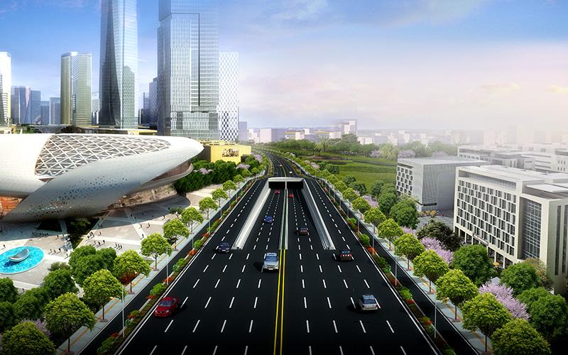 郑州市文博大道(西四环-凯旋路)新建工程